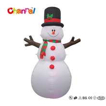 6 Foot Inflatable Christmas Snowman Holiday Family Yard