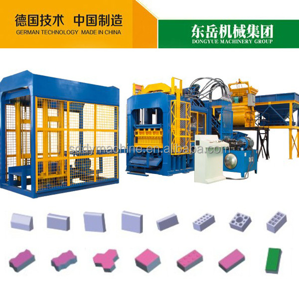 QT10-15 dongyue fly ash china alibaba cement brick making machine price in india
