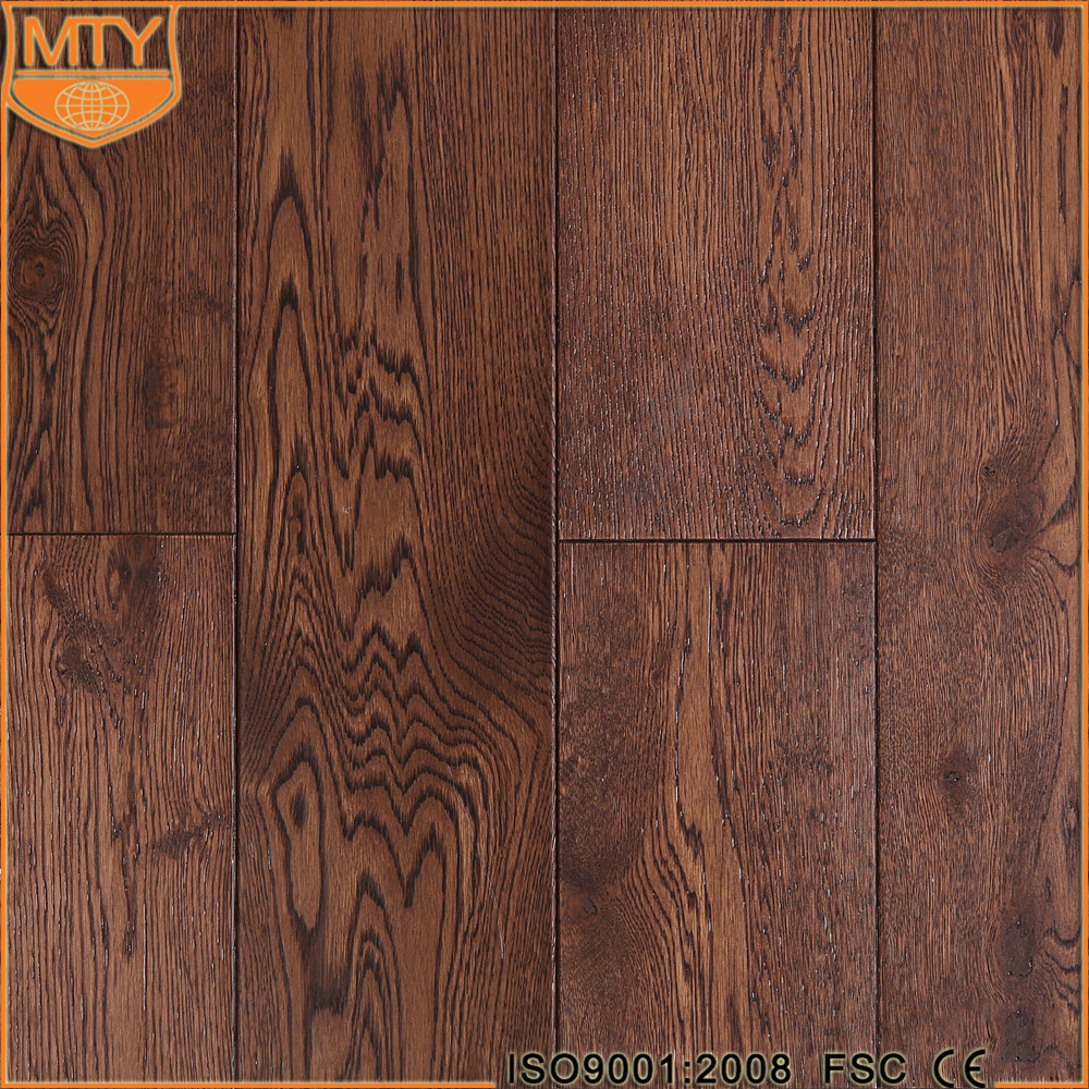 S-62 Premium Grade Indoor Multi Colored Oak Solid Wood Flooring