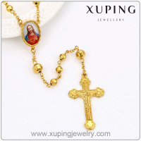 xuping fashion elegant 24K gold color pendant necklace 42817