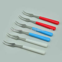 hot sell pp handle stainless steel meat fork/BBQ fork