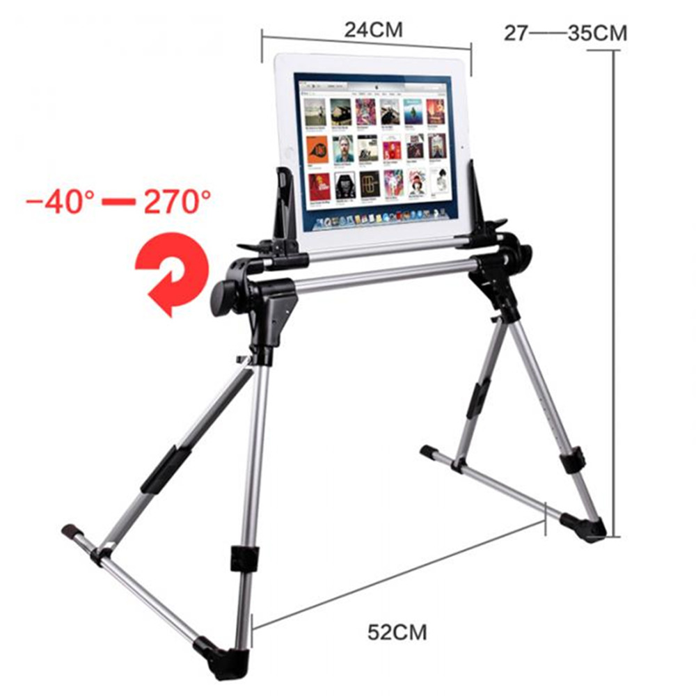 Lazy man Universal Tablet Bed Frame Holder Stand for Pad 1 2 3 4 5 air Phone Samsung Galaxy Tab