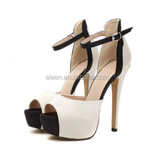 Fashion high heel sandals pictures shoes for women 2014