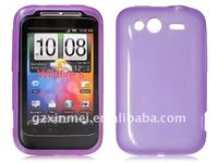 FOR HTC Wildfire s TPU MOBILE PHONE CASE