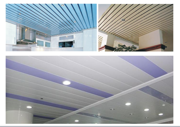 cheap price insulated self clean aluminium ceiling