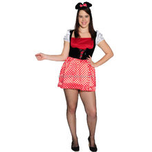 Party Carnival adult minnie mouse costume MAA-54