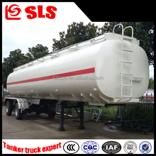 2 axles cheap oil/fuel/diesel/gasoline tank semi-trailer transporter 35cbm dimensions