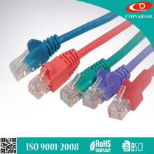 UTP/FTP/STP/SFTP CAT5/CAT5e/CAT6/CAT7 Lan patch cord flat ethernet cable LAN cord