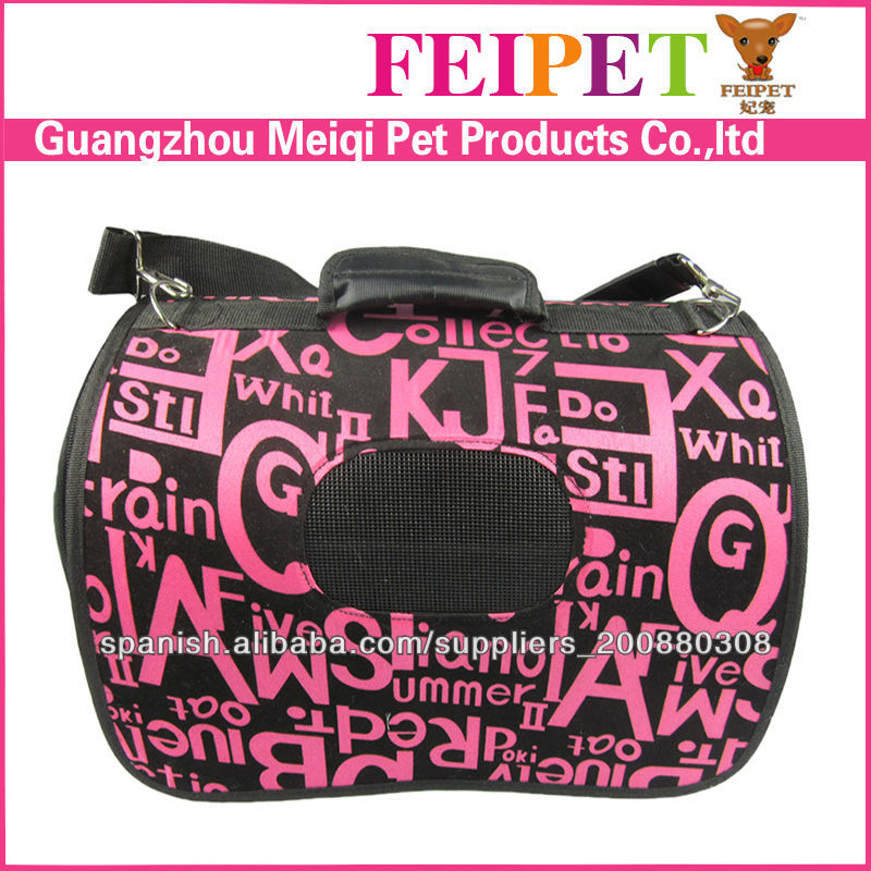 Portable pet carrier durable pvc lavable dog transporteur sac fabricant