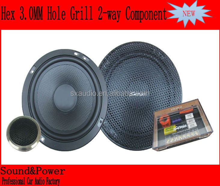 6.5 inch 2 way car audio component speaker