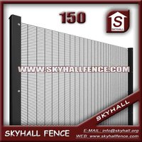 358 Security Fence, Mesh Size of 12.7 x 76.2mm 2.1m (H), Post of 60 x 80 x 2mm
