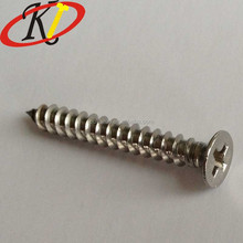 Chinese Fastener Manufacture 30mm Chipboard Screws Stainless Steel Phillips Countersunk Head Screws