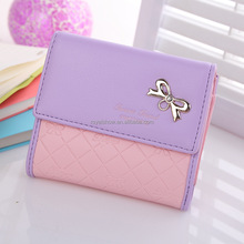 2017 Lady Coin Holder Purse Girl's Wallet Good Price Wallet For Women