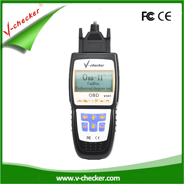V-checker laptop auto diagnostic software with CE certificate