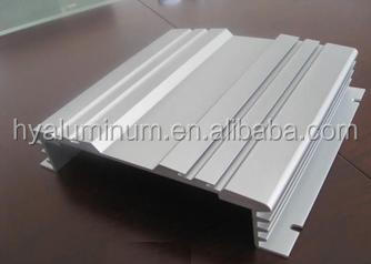 6000 series anodized T-slotted aluminum profiles