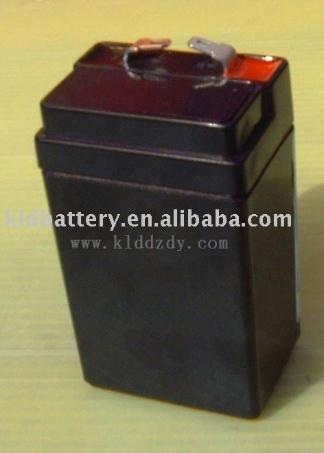 Lead acid rechargaeble storage battery 4v2ah