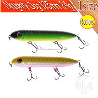 2012 new high quality best selling hard fishing lure Naughty Dog 125mm 24g 4colors
