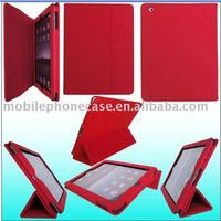 Design Your Own High Quality Case PU Leather Tablet Stand Case For iPad2/3/4