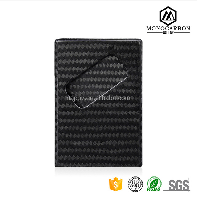 Business card holder carbonyuanwenjun fancy square business card holder carbon fiber back stick card holder for custom card holder colourmoves