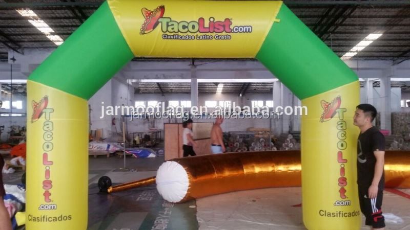 NEW design inflatable arch for event/racing arch