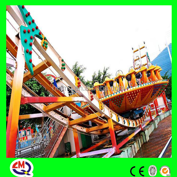 Happy valley super thrill adults playground equipment flying UFO with BV&ISO9001 license hot selling