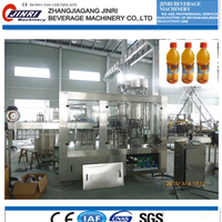Juice Bottle Filling And Sealing Machine
