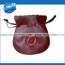 Genuine pure leather bags leather money bag pouch for jewelry