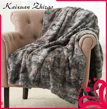 Super Soft Faux Fur Throw Print Plush Sherpa Blanket