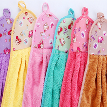 Wholesale Coral Fleece Absorbent Kitchen Towel
