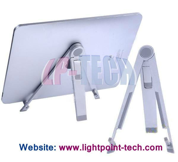 Portable Mobile Metal Folding stand holder mobile stand for tablet pc