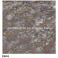2015 new collection FJ614 rustic tile metallic floor tile