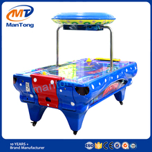 Hot sale indoor game zone suppliers coin operated air hockey table arcade machine