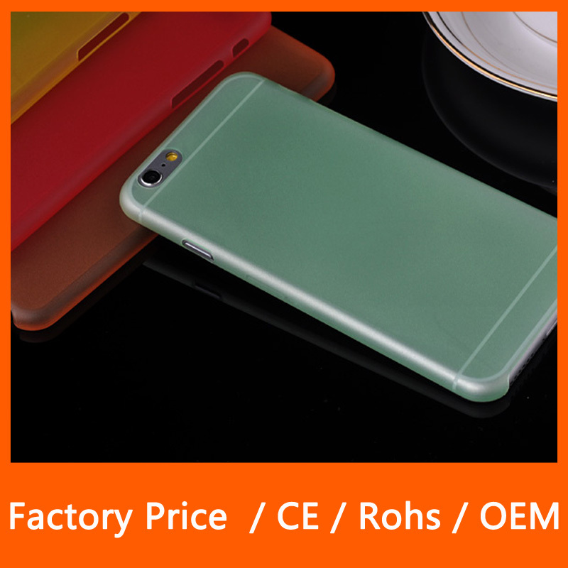 Wholesale Mix Color Mobile Phone Silicone Cover Ultra Thin Matte PC Cases For iPhone 6