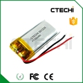 GPS Li-Po battery 501225 3.7V 110mAh with wire