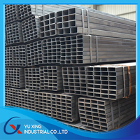 Square Tube Table Leg/ Black Square Pipe Carbon Steel Tube Welded Pipe