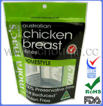 Beautiful packaging low price plastic bag for chicken