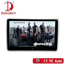 10.1 hd touch screen car/taxi headrest android tablet for rear seat multimedia player