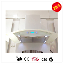 new model best selling arc island kitchen hood range hood