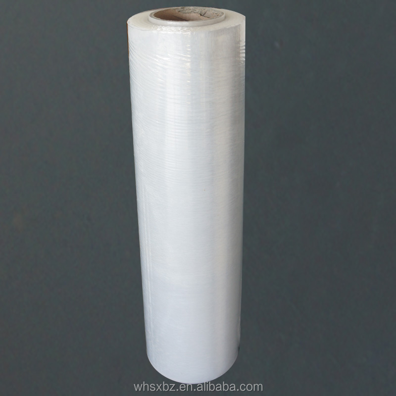 High quality PE stretch film jumbo rolls wrapping films for pallet wrapping