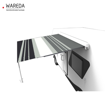 high quality retractable roll out caravan awning
