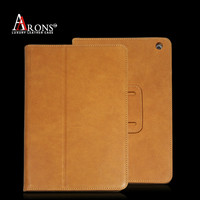 Genuine leather case stand cover case for ipad mini smart case