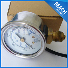 pressure gauge cng fuel system for cng gas