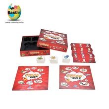 Logo Printed Washable plastic box for playing cards