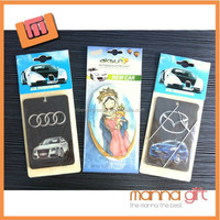 China hemp air freshener paper classic x car air freshener car shaped decorative air freshener