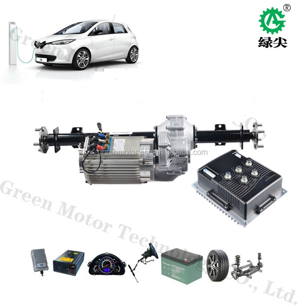 5 Kw Brushless Ac Traction Motors Driving Systems For