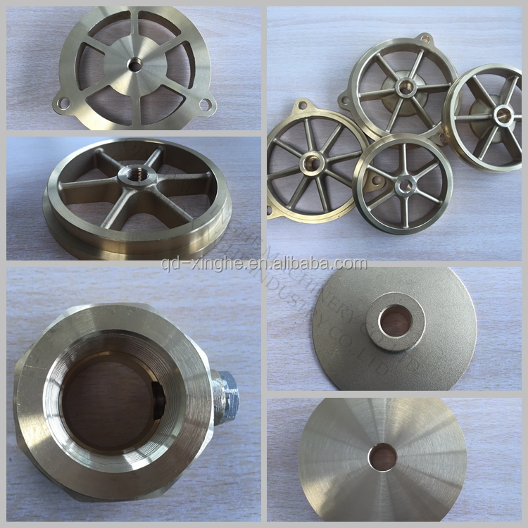precision machinery casting die bronze casting with polishing finish