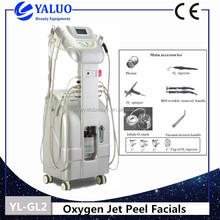 Cheap selling machine! Oxygen jet peel 7 color photon led skin rejuvenation