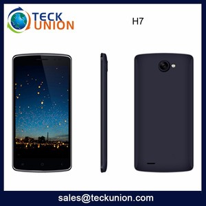 H7 5.0Inch Big Touch Screen Chip Price Smart Mobile Phone Android New Low Cost 3G Cellphone Custom