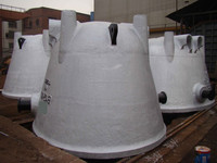 OEM casting bottom pouring ladle