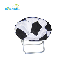 Comfortable Chirdren Folding Chair For Indoor And Outdoor Leisure/High Quality Moon Chair Adult Folding Camping Moon Chairs